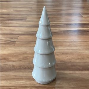 St. Nicholas Square Grey Ceramic Tree Figurine